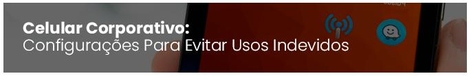Mini Capa Post Gerenciador de Dispositivos Móveis Corporativos