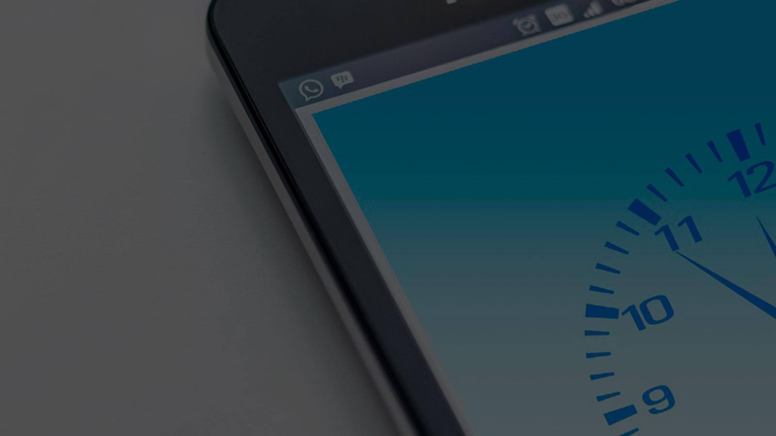 horário de funcionamento personalizável para dispositivos móveis