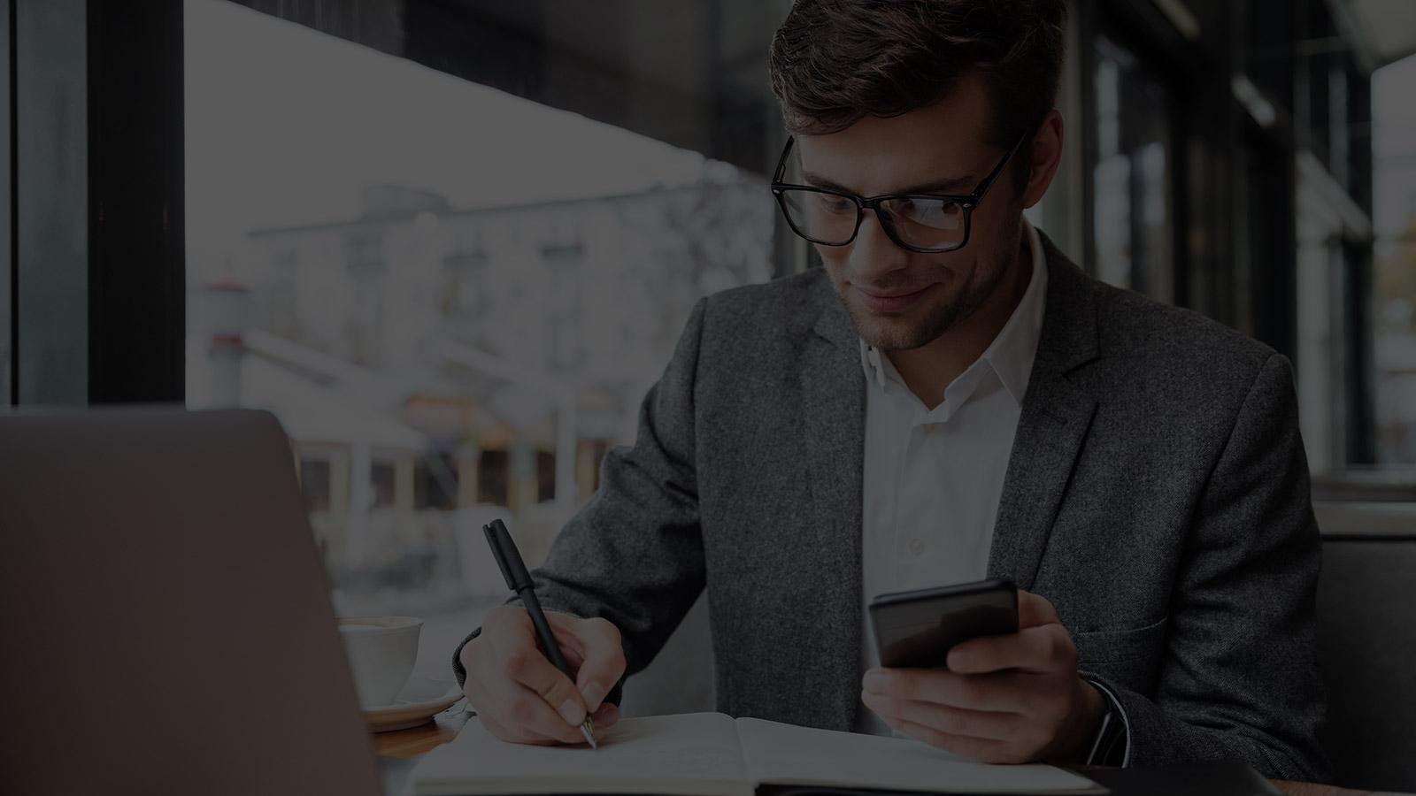 dispositivos e aplicativos de mobilidade empresarial